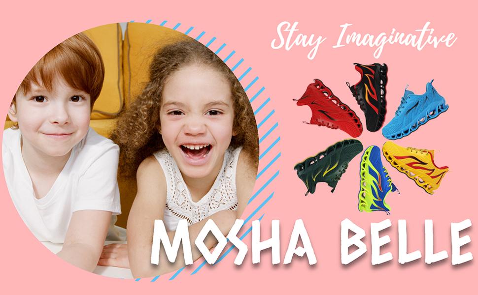 mosha belle boy girl sneakers running shoes