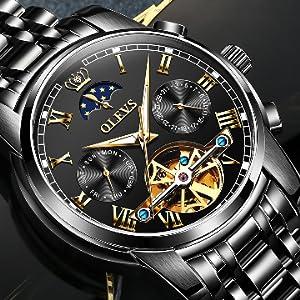 Black dial