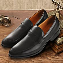classic loafers design suitable for business weddings and so on.