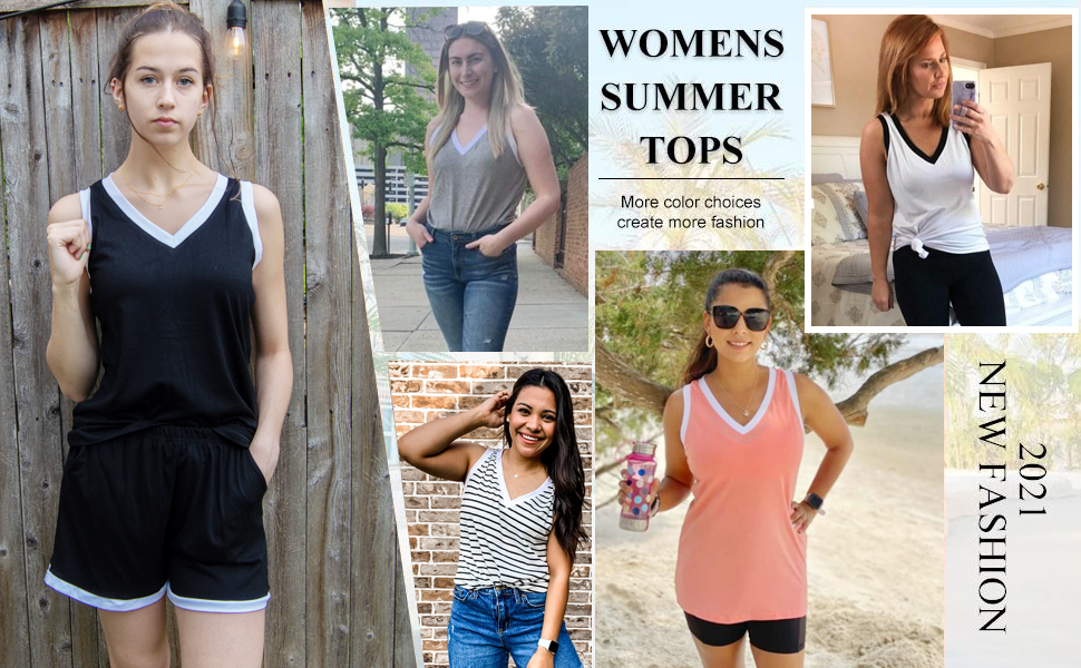 womens tank tops