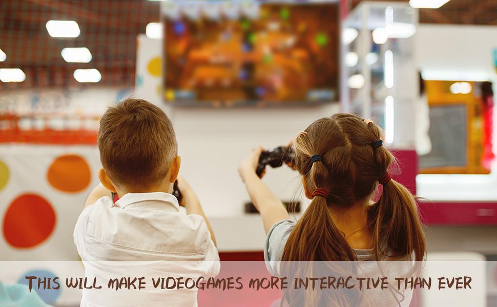 Make video games more interactive