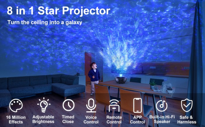 blisslights control de home kmm lighting remote unicorn 360 ambiance astron bedroom,game bright