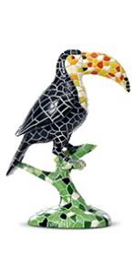 Toucan sculpture decoration