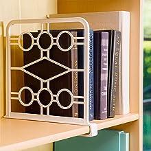 bookshelf organizer