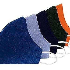 Breathable Cotton & Spandex| Three Layer