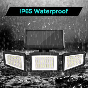 Ip65 waterproof solar motion sensor light