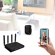 spy camera with audio and video