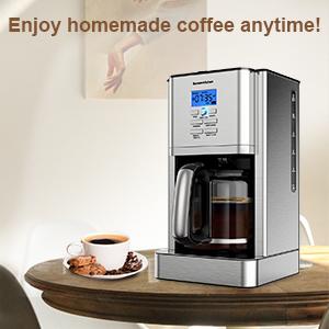 Stainless Steel Drip Coffee Maker Machines