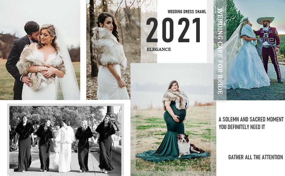 wedding dress shawl