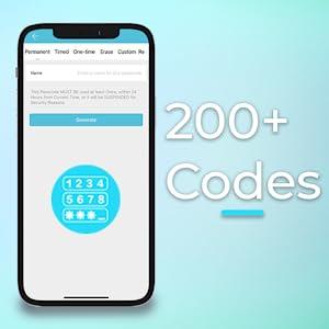 programming codes on companion app