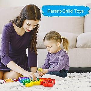 sensory toys figet toys poppers fidget toy sensory fidget toys push pop fidget toy bubble popping
