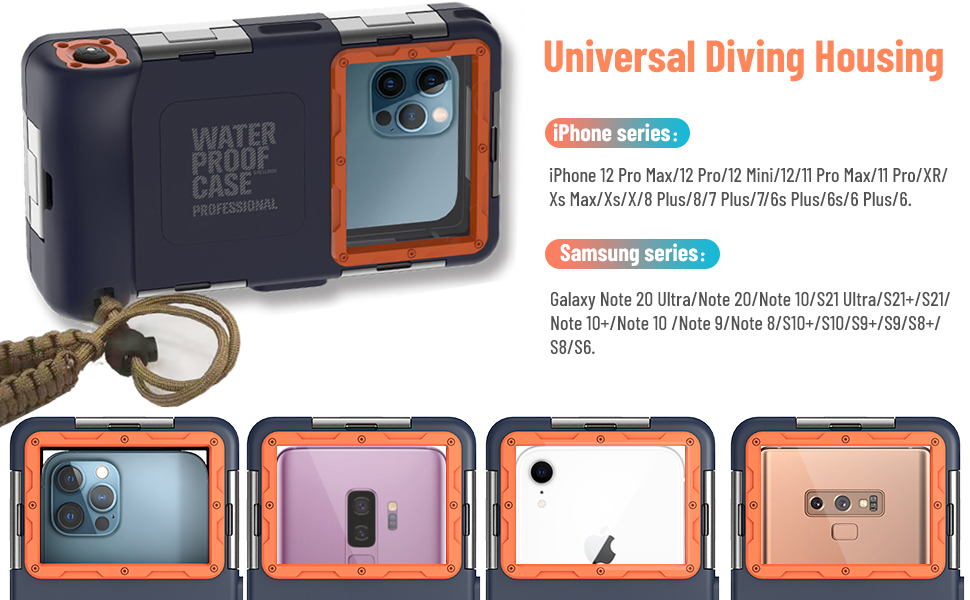 Universal Diving Housing