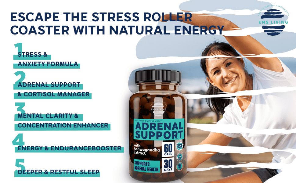 adrenal support cortisol manager  adrenal fatigue supplements for women