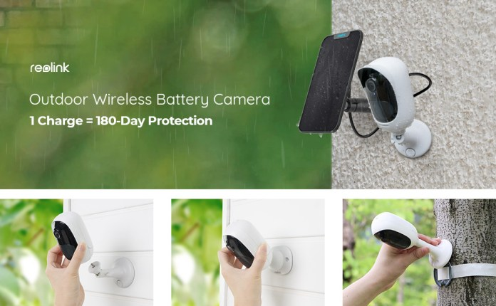 Outdoor Security Camera Battery Solar Powered