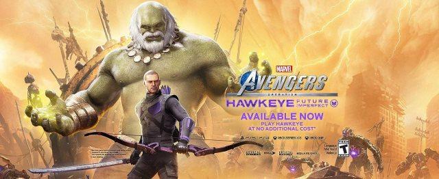 Avengers, Marvel, Marvel's Avengers, Hawkeye, Captain America, Iron Man, Thor, Hulk, Black Widow