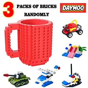 Build on Brick coffee buddy buddies cup kid child adult mug