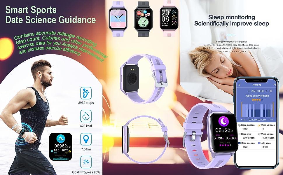 Smart Sports, date science guidance, sleep monitoring, scientifically improve sleep