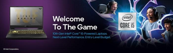 ASUS TUF Gaming F15 Intel Core i5 10th Gen