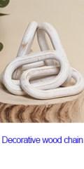 decorative wood chain