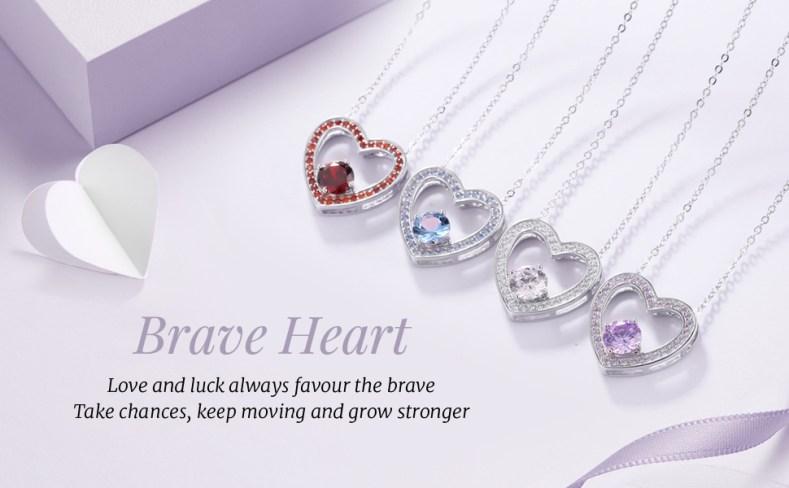 Brave Heart Neklace