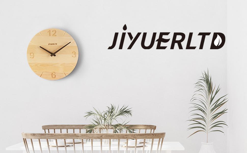silent clock solid wood clock wall Decorative clock modern clcok art dest clock kitchen wall clock