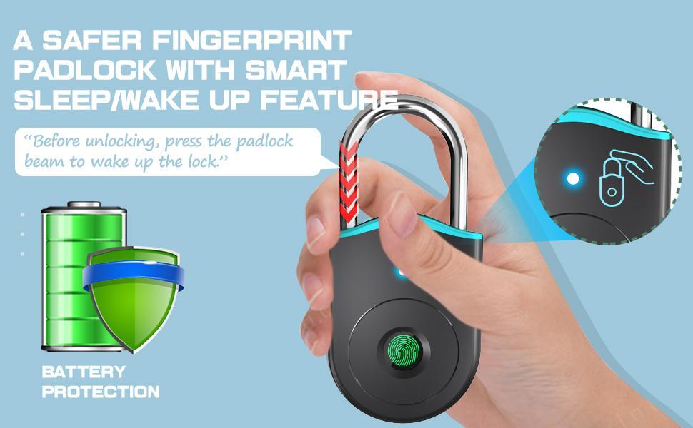 Fingerprint Padlocks