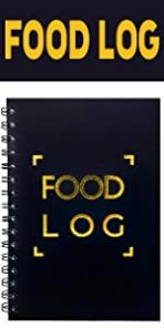 Food Tracker Log Journal for weight loss with calendar