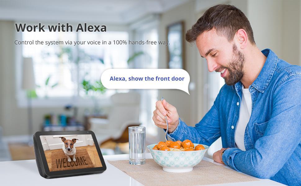 alexa security system wireless kits