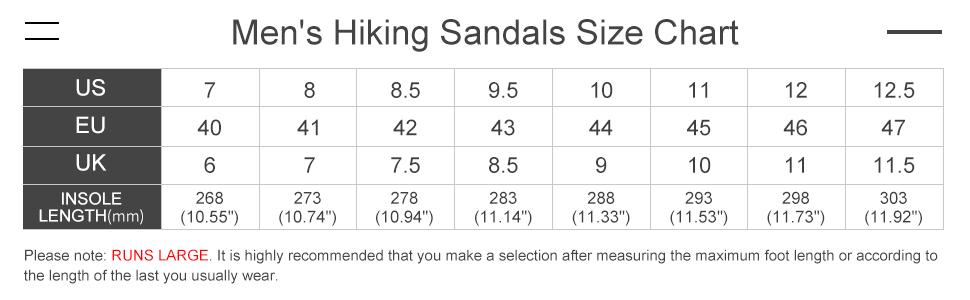 men's waterproof hiking sandals closed toe water shoes athletic sport sandals