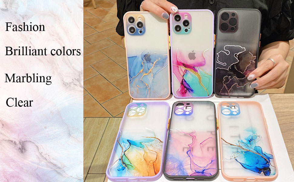 Marbling phone case iPhone 12 Pro Max