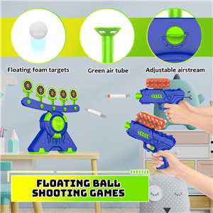 Shooting Games Toy for Age 5, 6, 7, 8, 9, 10+ Years Old Kids Boys Toys Floating Ball Targets