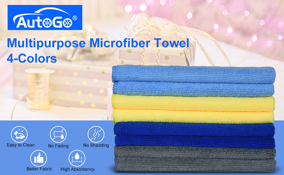 microfiber cleaning cloth pack of 8 -- 2