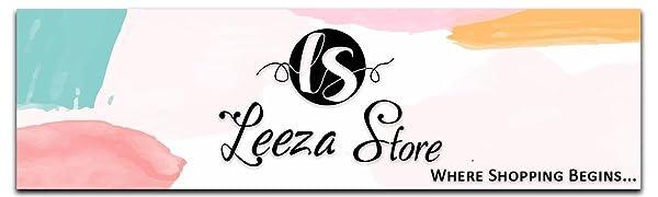 Leeza Store logo