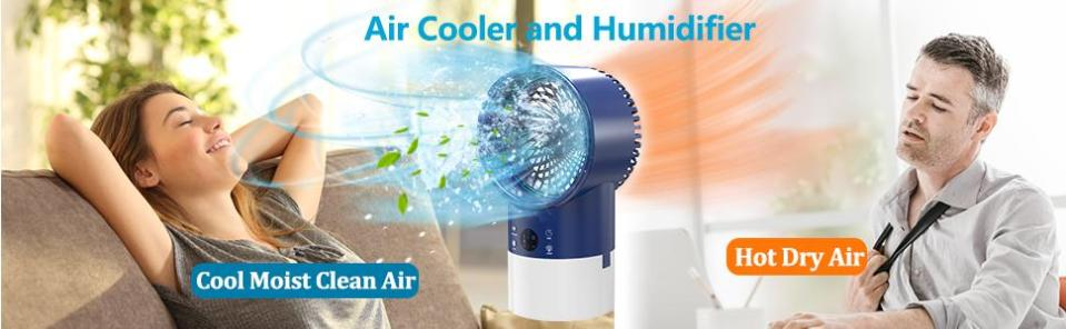 AIR CLLOER AND HUMIDIFIER