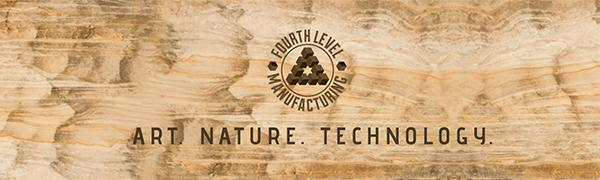 fourth level manufacturing art nature technology wood wall art laser cut art los angeles california