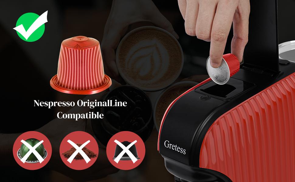 Nespresso Machine for Nespresso OriginalLine