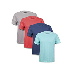 t shirts pack men soft premium classic tshirts multipack kingsted turquoise grey navy blue mint red