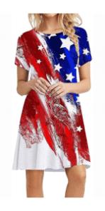 4th of July Tshirt Dress