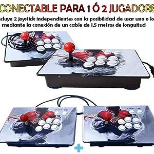 pandora box 10 conectable a 1 o 2 joysticks, Theoutlettablet, seekool tapdra, unicview