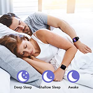 Blood Oxygen(SpO2)& Stress status& Sleep Monitoring