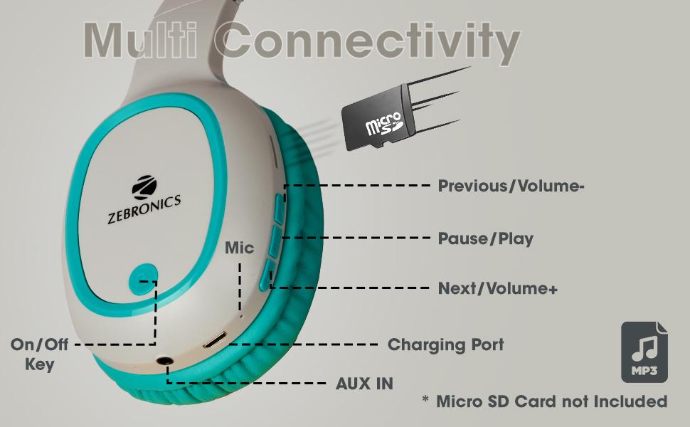 multiple connectivity headphones