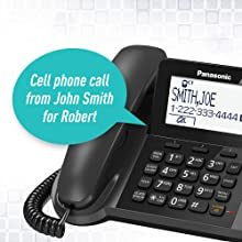 KX-TGF38xM Text and Caller ID