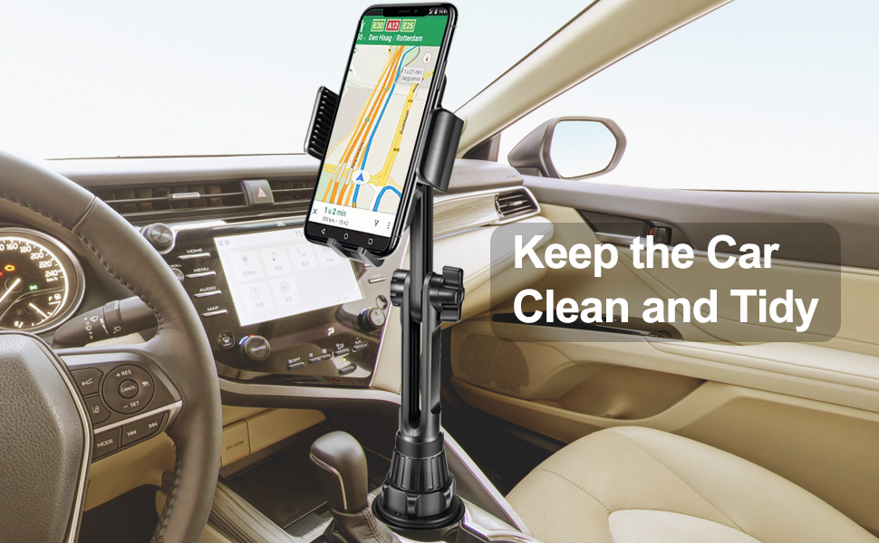 cup holder phone mount