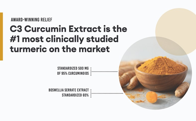 c3 curcumin extract #1 most studied scientifically backed on market
