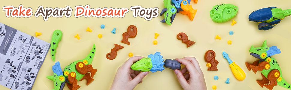 Take Apart Dinosaur Toy