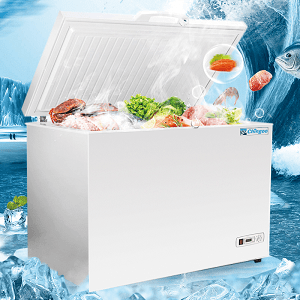 large commercial chest freezer