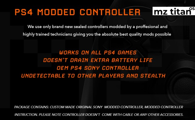 ps4 modded controllers custom controllers