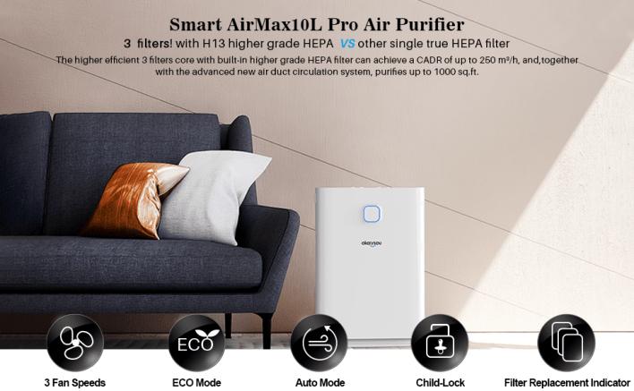 AirMax 10L Pro Air Purifier