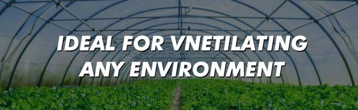 greenhouses venting fan