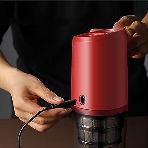 CalmDo Estrattore di Succo a Freddo Portatile USB Ricaricabile